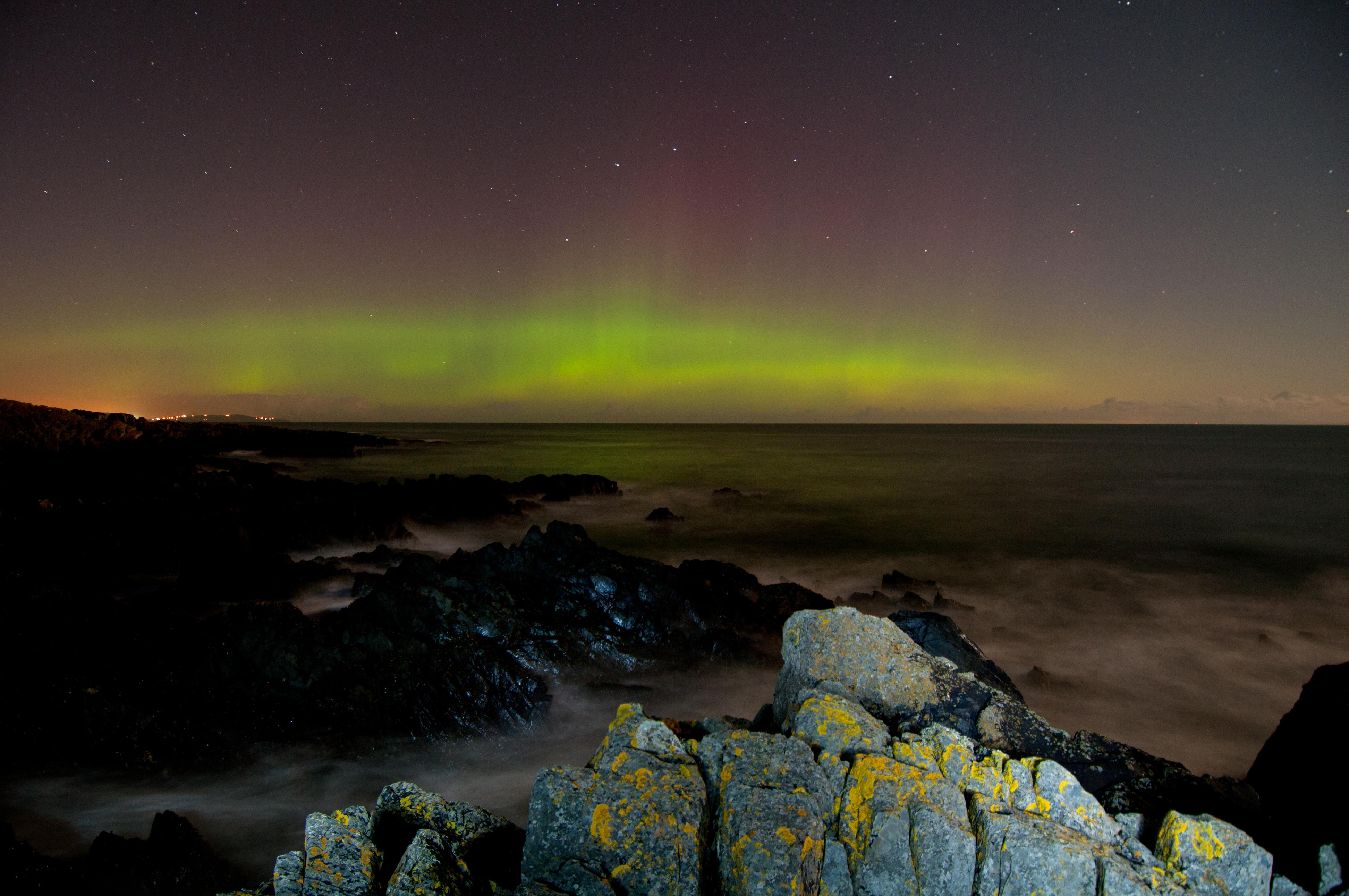 Aurora Borealis from Orlock Point