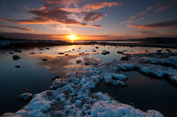 Tidal Reflections at Sunrise