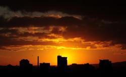 Sunset City Panorama