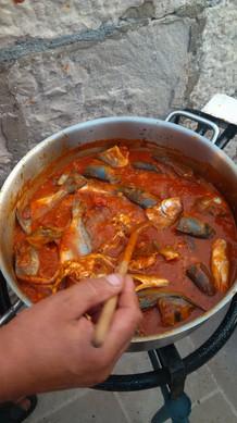 Brudet/Fish Stew Pelješac