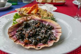 Cuttlefish Black Risotto Ston
