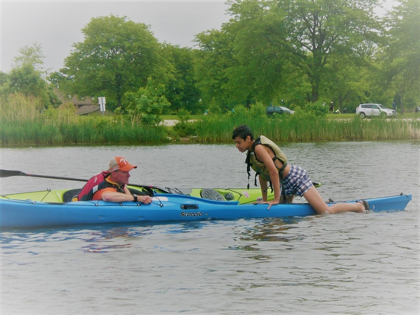 Kayak Rescues - Spring 2018