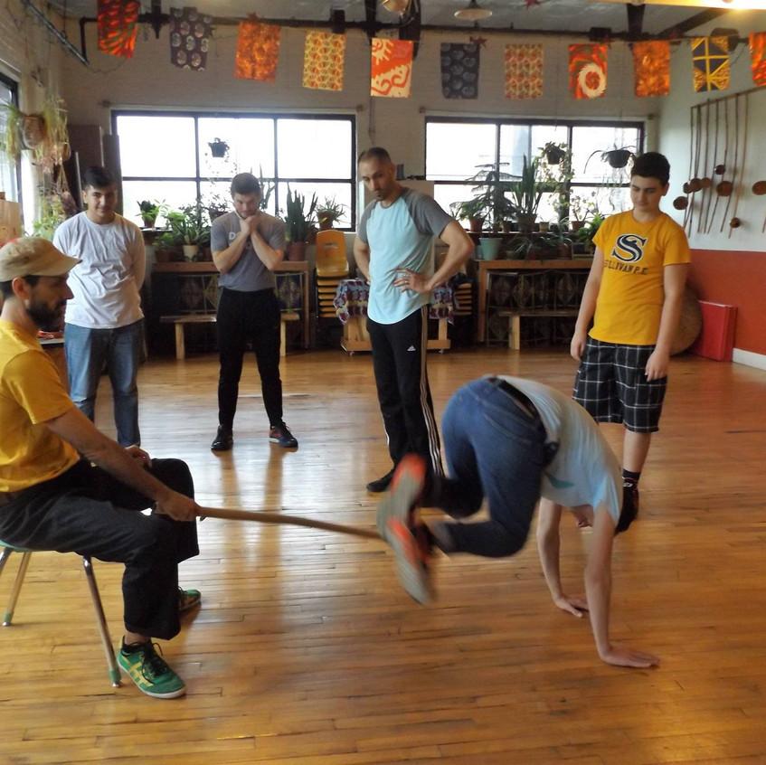 Capoeira Lessons