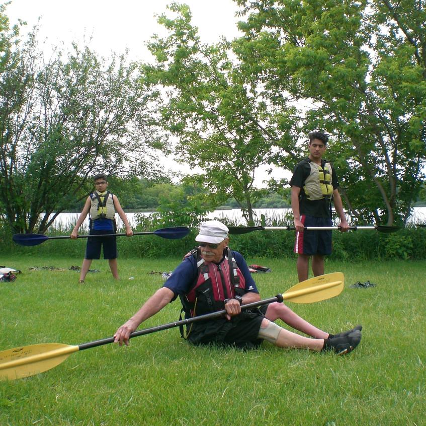 Paddling Training