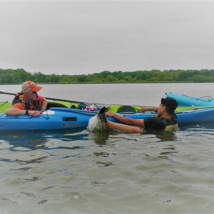 Kayak Rescue Training