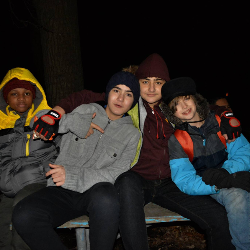 Night Hike and Bonfire