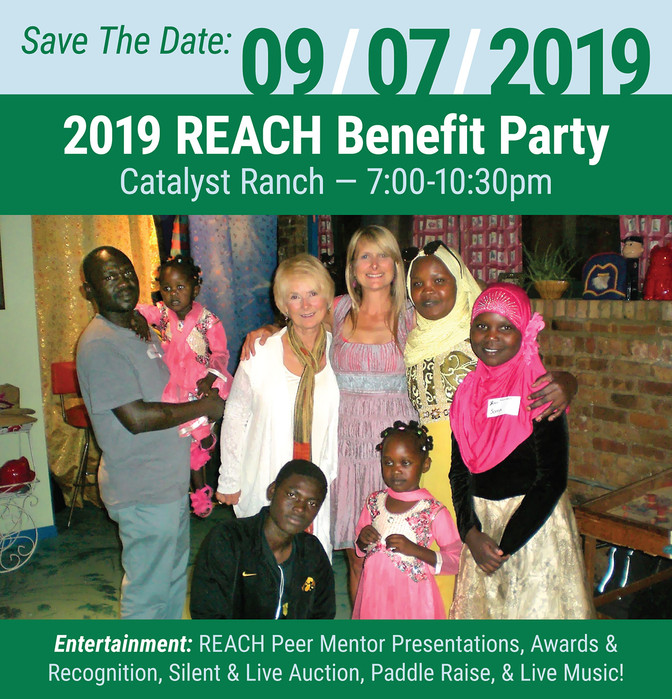 REACH Benefit Party - SAVE THE DATE!