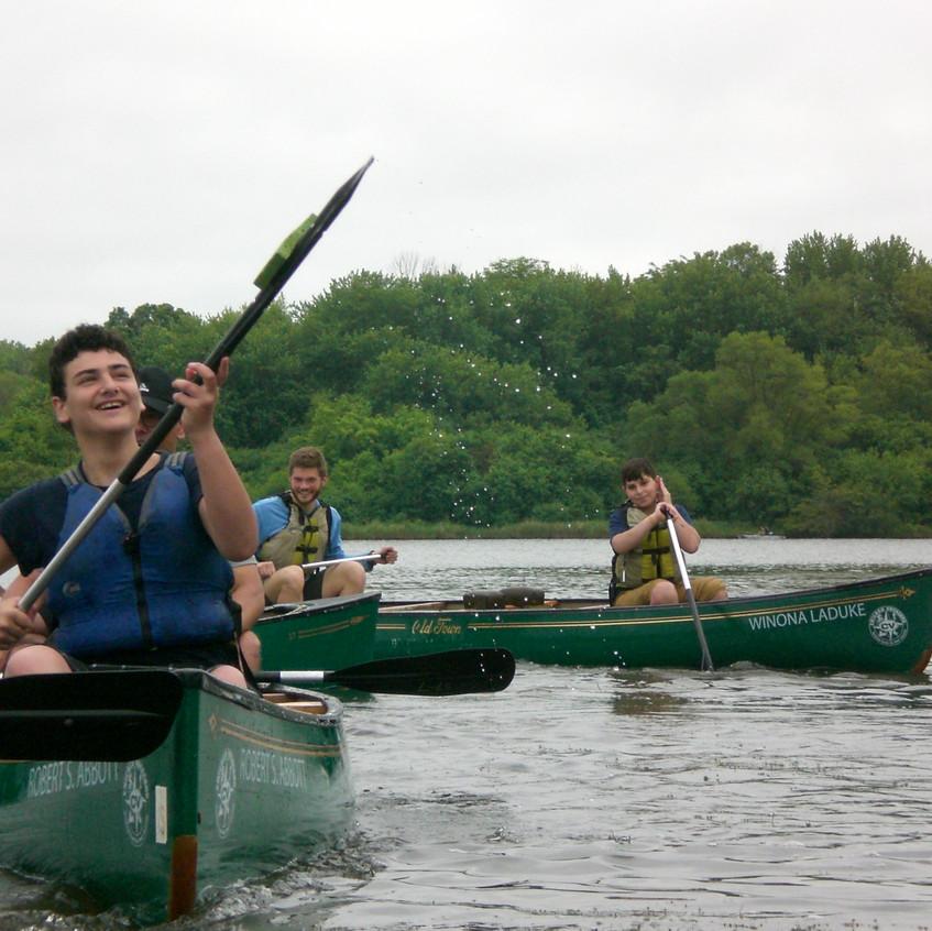 Canoeing Skills Building & Play