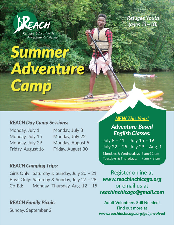 Summer Adventure Camp 2019