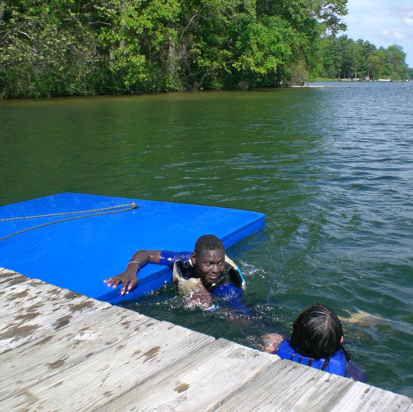 Swimming and Paddling