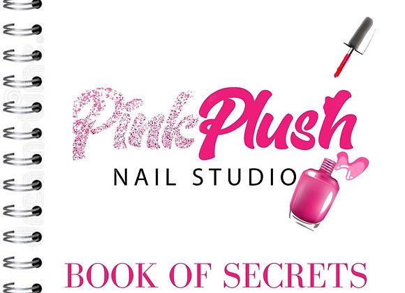 Pink Plush Nail Secrets BOOK ( Pre-Order)