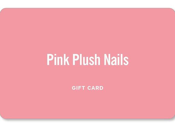 Pink Plush $50 Gift Card