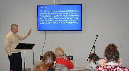 adult class at saint andrew presbyterian church