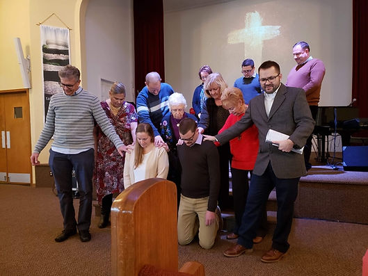 new members welcomed at saint andrew epc