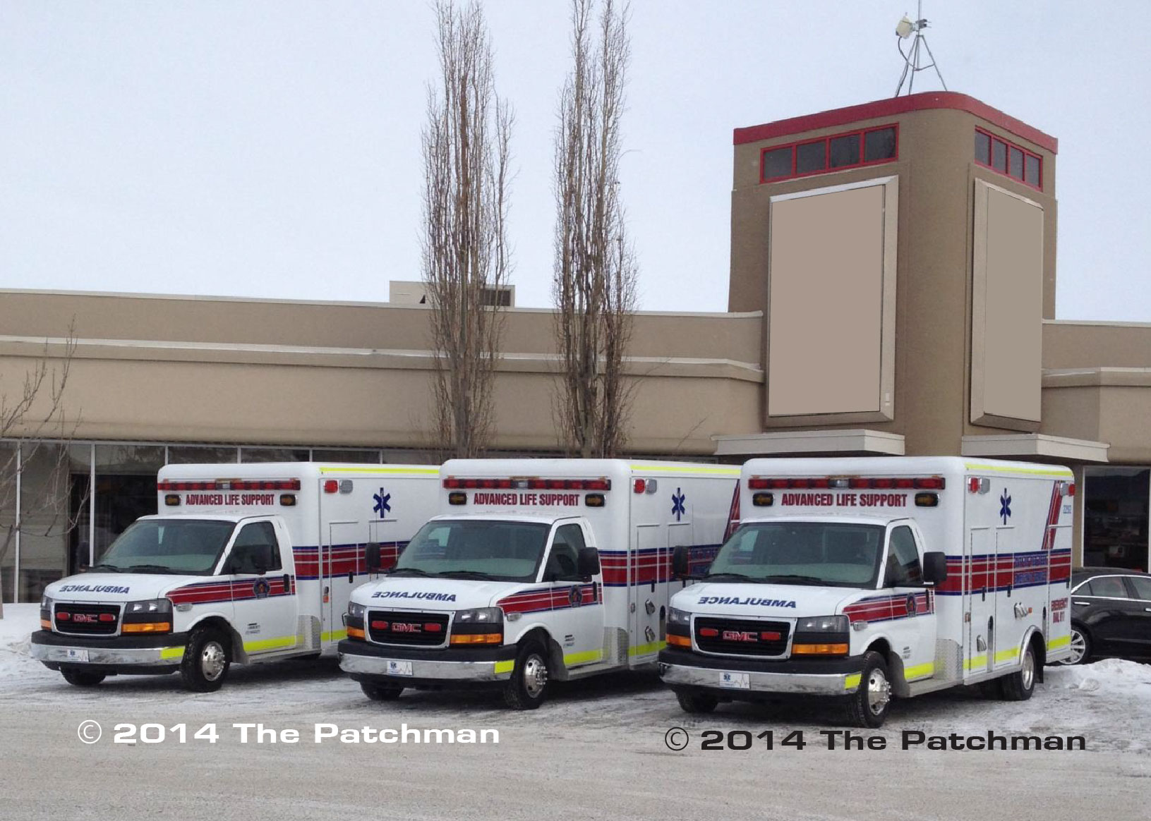 Red Deer Fire - 3 of 6 units