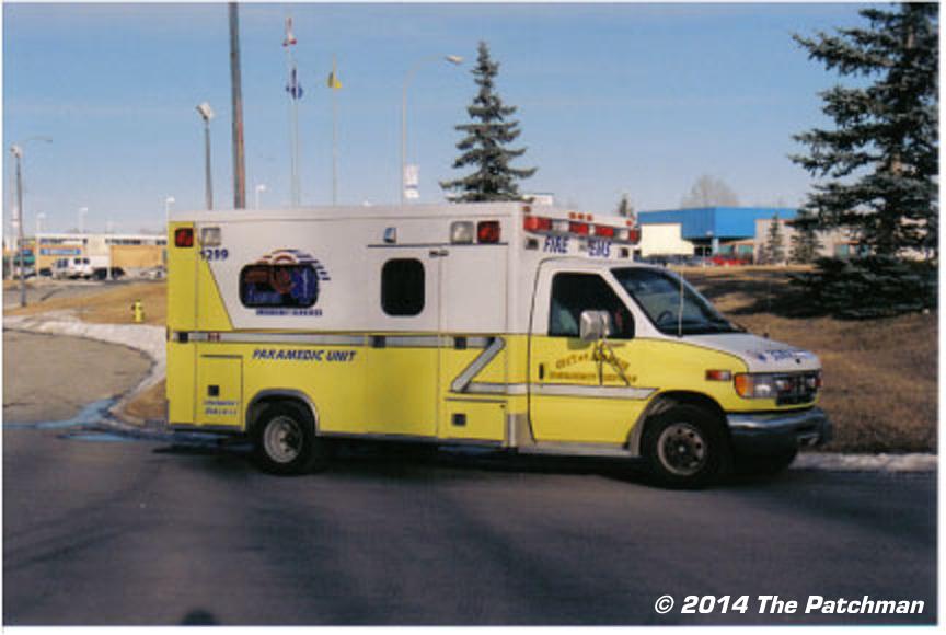Airdrie Fire Refurbished Ambulance