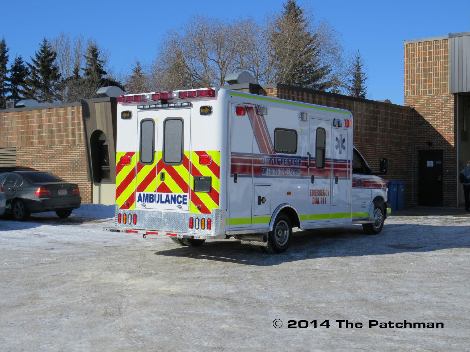 Red Deer Ambulances