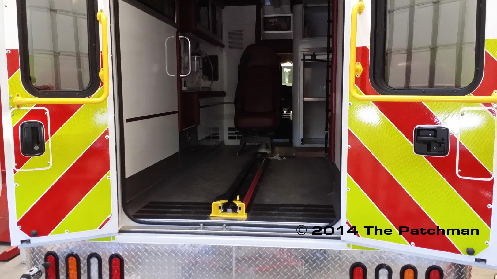Red Deer Ambulances 2014