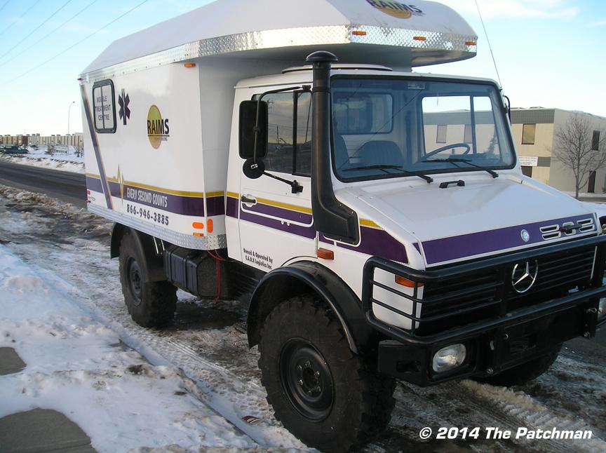 Industrial ambulance