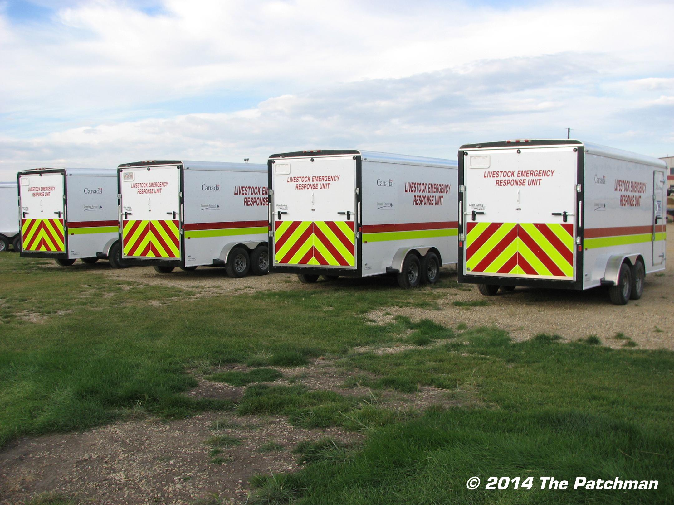 Emergency Livestock trailers