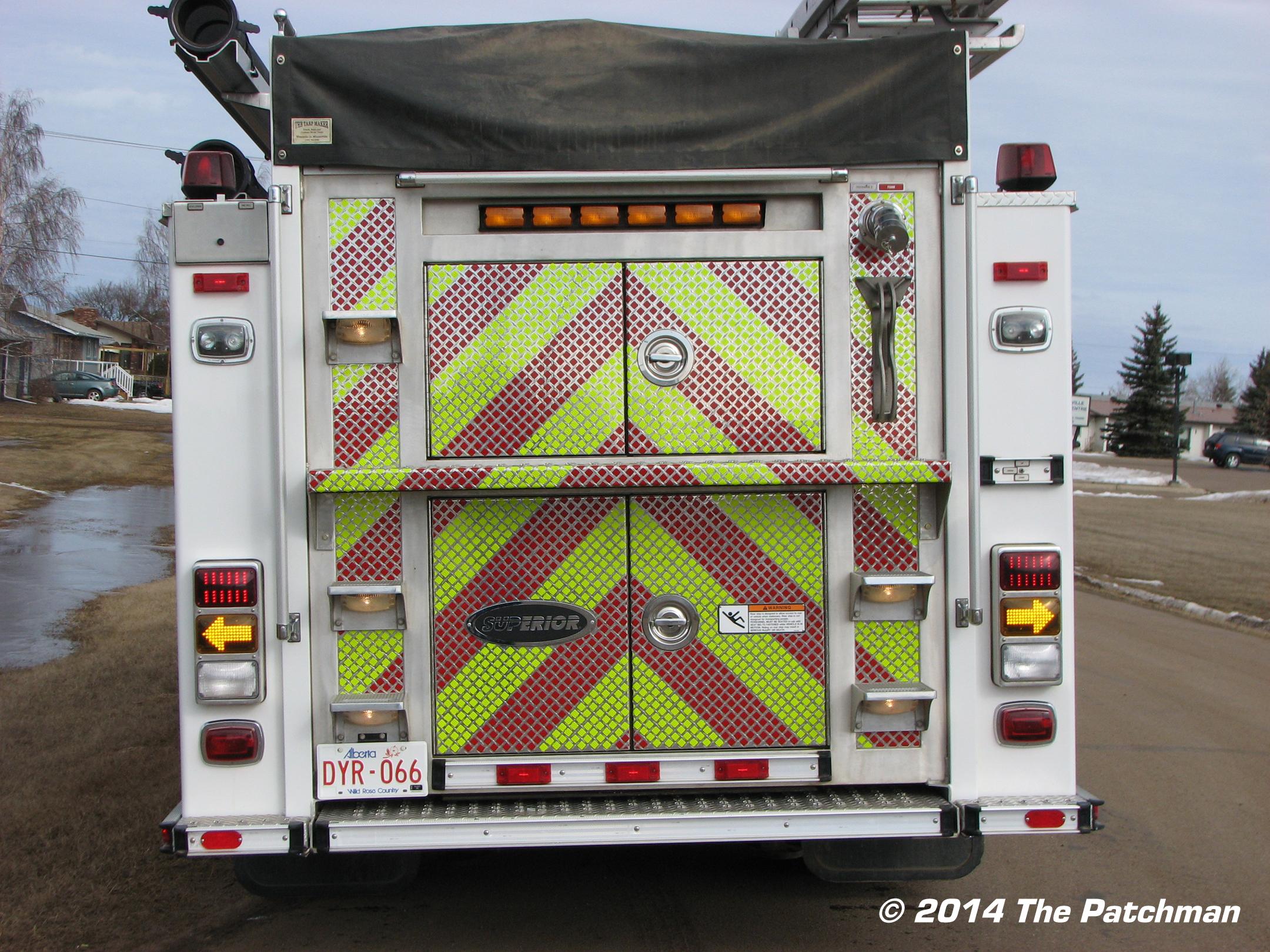 Mannville Fire