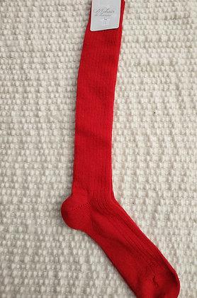 Chaussettes longues écarlate