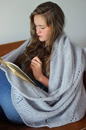 Petit plaid tricoté