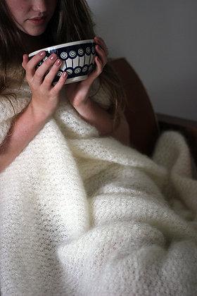 Grand plaid tricoté