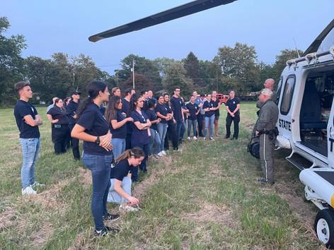 Freehold EMS Holds MEDEVAC Drill