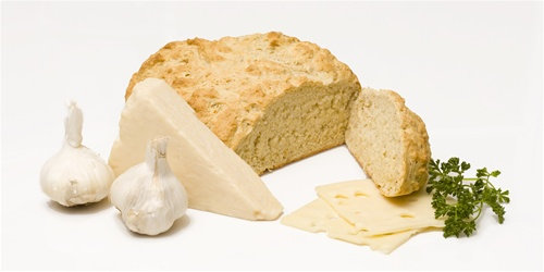 Garlic and Cheese Beer Bread