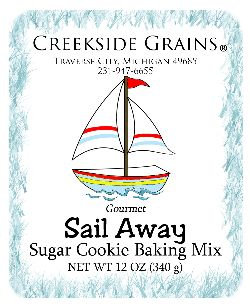 Sail Away Sugar Cookie