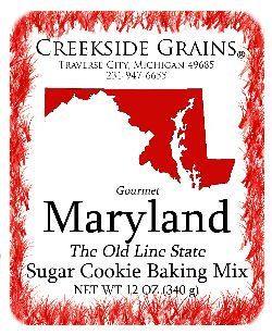Maryland Sugar Cookie
