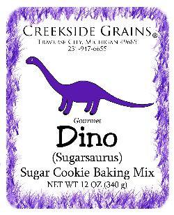 Dino Sugar Cookie