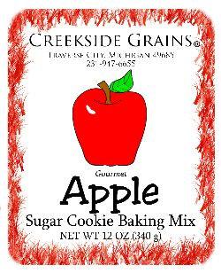 Apple Sugar Cookie