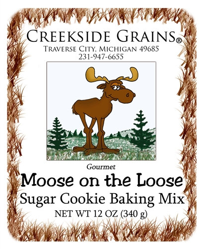 Moose Sugar Cookie
