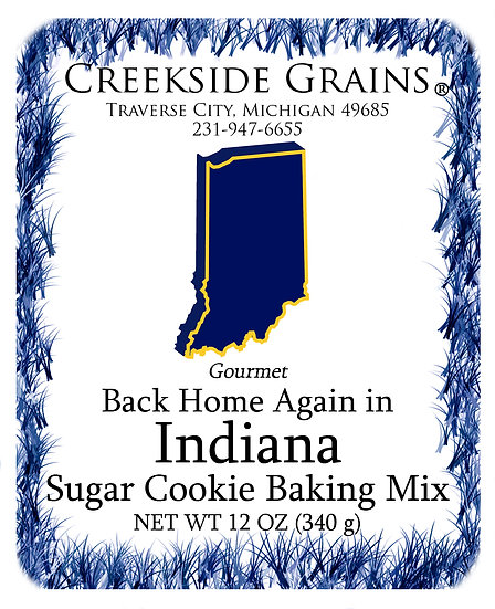 Indiana Sugar Cookie