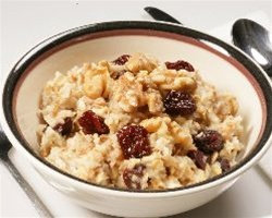 Cherry Walnut Oatmeal