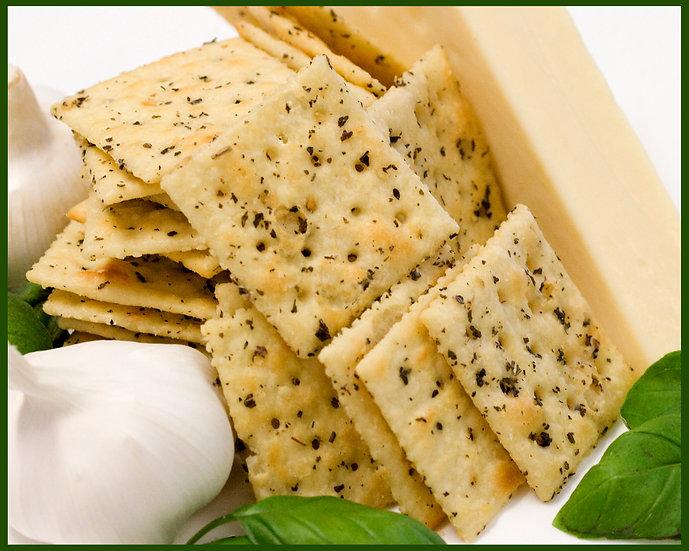Cracker Uppers Pesto