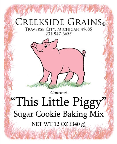 """This Little Piggy"" Sugar Cookie"