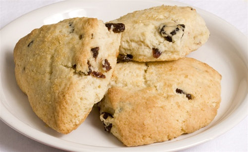 Cherry Cream Scone