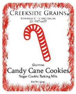Christmas Candy Cane Cookies
