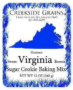 Virginia Sugar Cookie