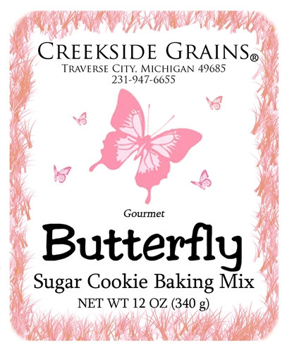 Butterfly Sugar Cookie