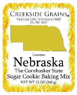 Nebraska Sugar Cookie