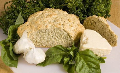 Pesto Beer Bread