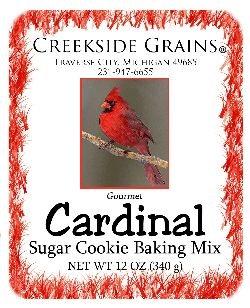 Cardinal Sugar Cookies