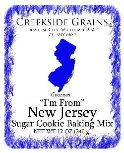 New Jersey Sugar Cookie