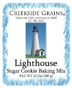 Lighthouse Sugar Cookie
