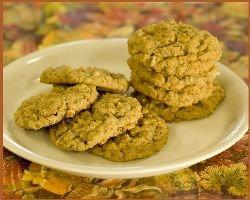 Pumpkin Pecan Oatmeal Cookie