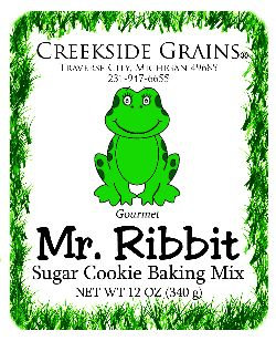 Mr Ribbit Sugar Cookie